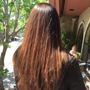I Colored my #hair with henna. I achieved my dream…