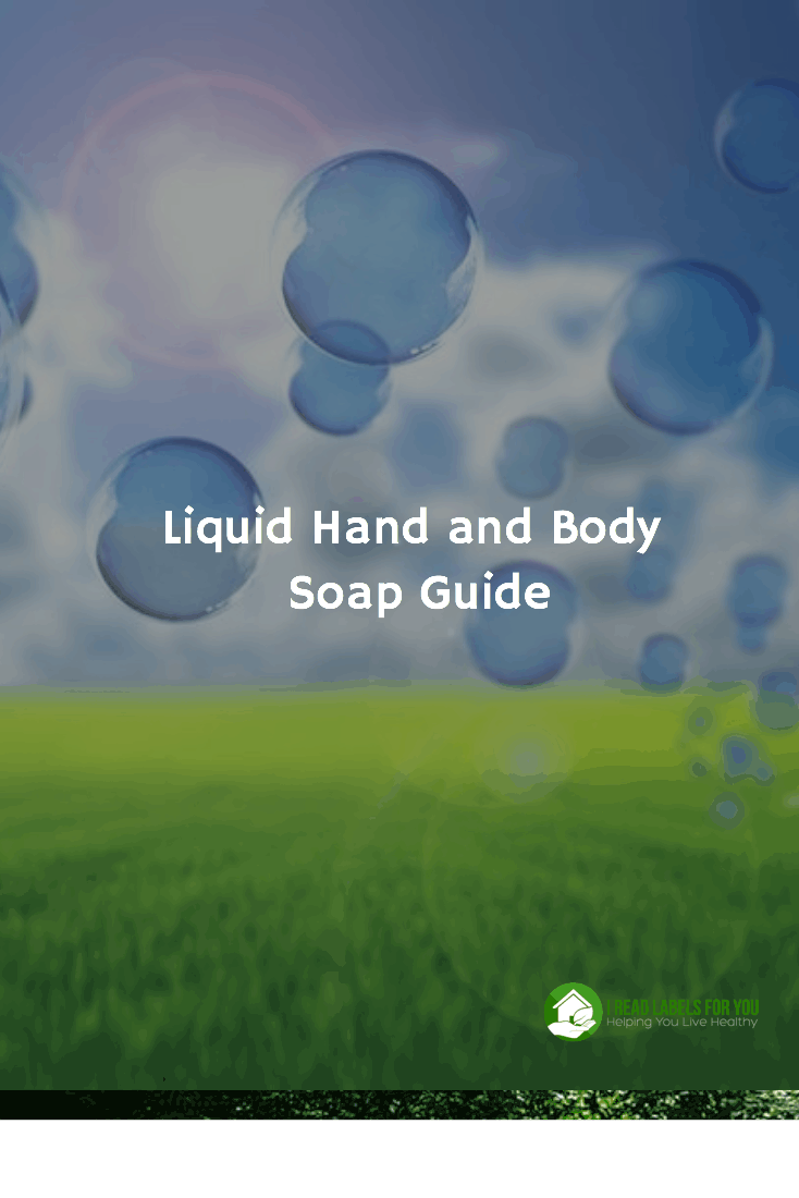Safe Liquid Body Soap