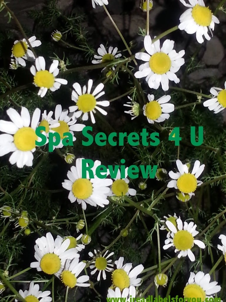 Spa Secrets 4 U Review
