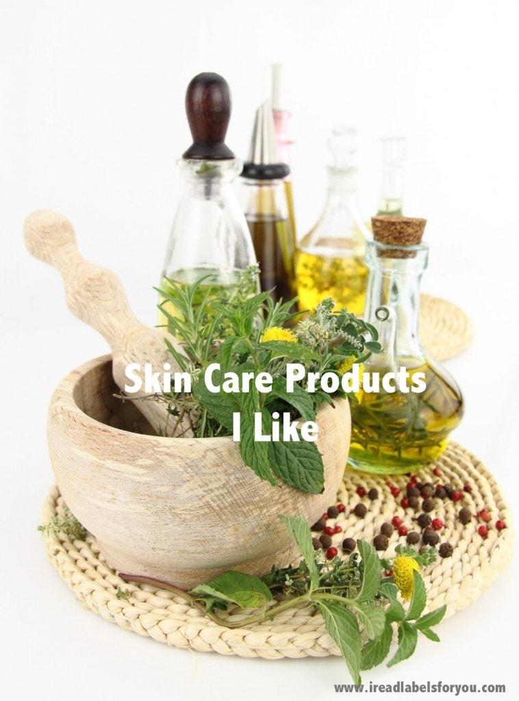 Plant-Based Skincare Products I Like
