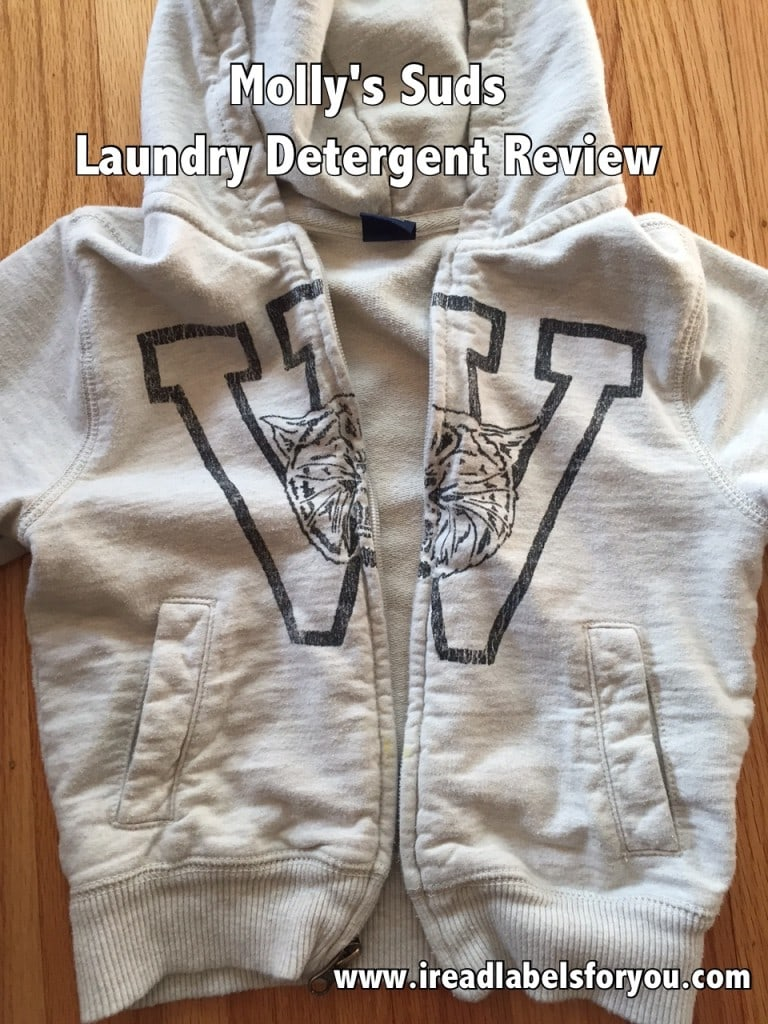 Molly's Suds Laundry Detergent Review