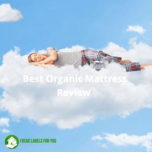 Best Organic Mattress for my family. A woman sleeping on a cloud.