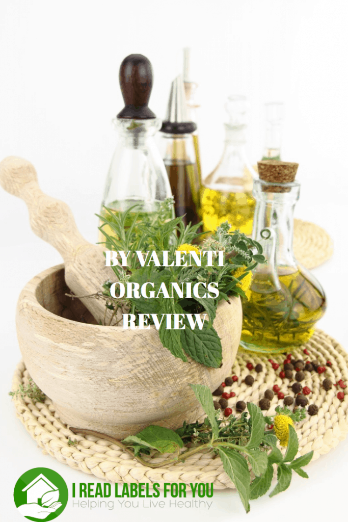 By Valenti Organics Review Organic Skin Care natural skin care