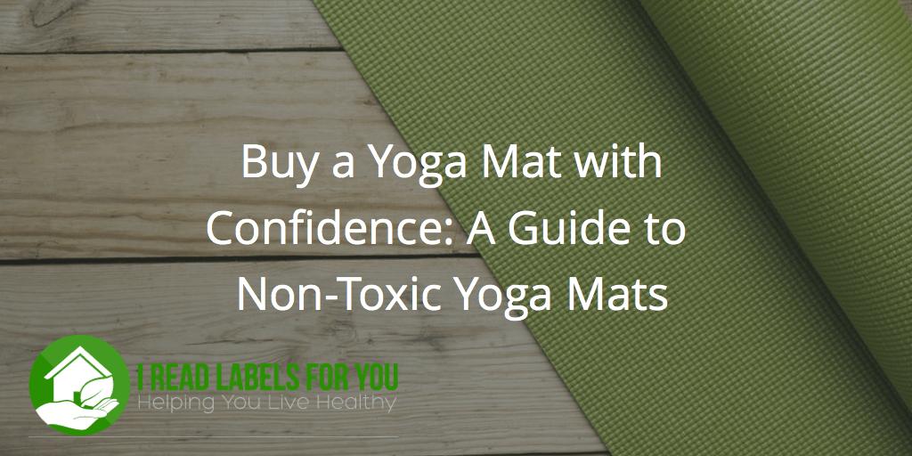 non-toxic yoga mat eco yoga mat