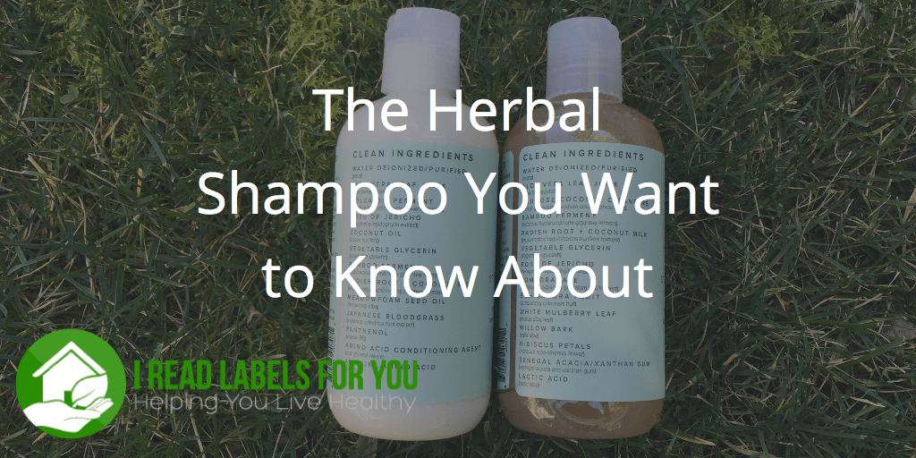The Herbal Shampoo You Want to Know About