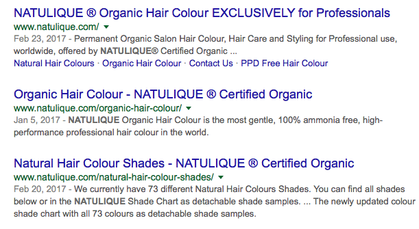 Natulique Hair Color Ingredients