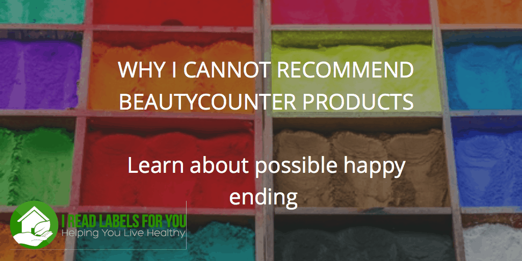 Why I cannot recommend Beautycounter