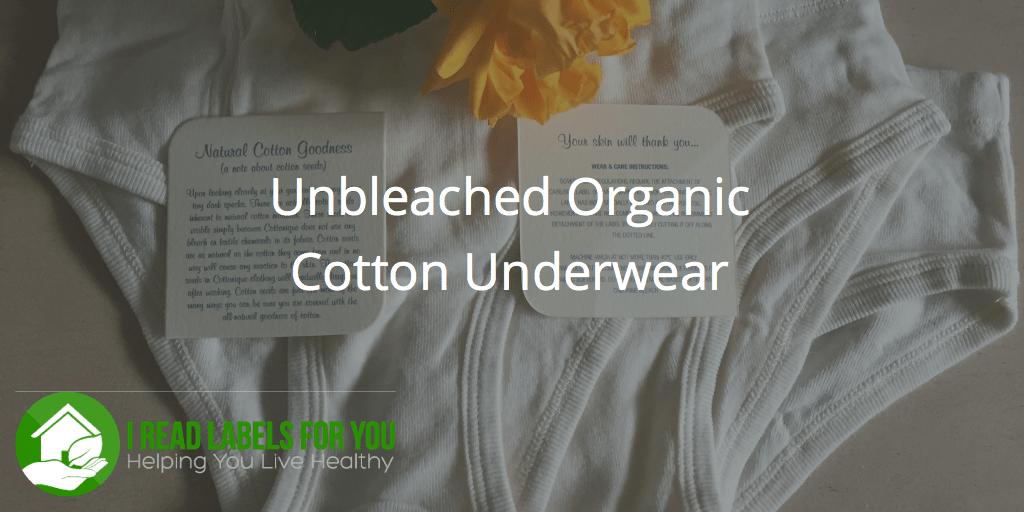 Unbleached Organic Cotton