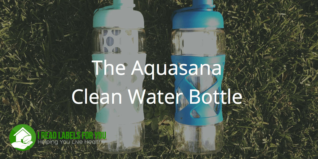 the Aquasana Clean Water Bottle