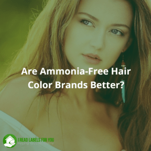 Are Ammonia-Free Hair Color Brands better? A photo of a young lady with long hair.