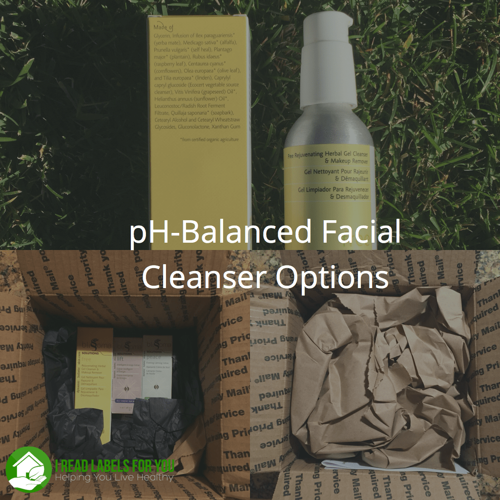 pH-Balanced Cleanser Options