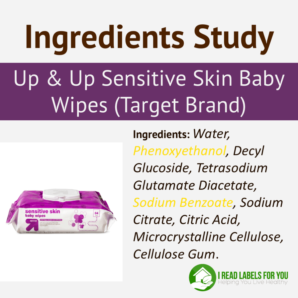 Target Up & Up Sensitive Skin Baby Wipes Ingredients