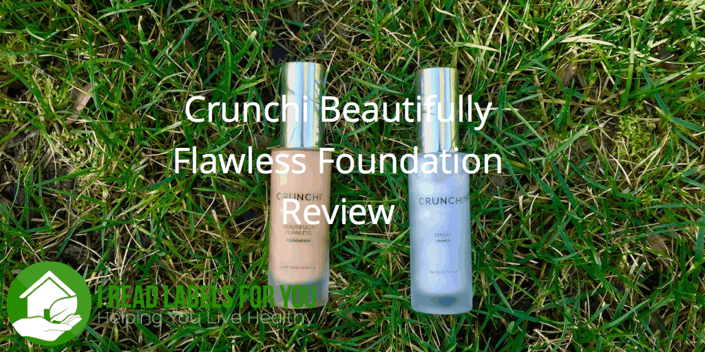 Crunchi Non-Toxic Liquid Foundation Review