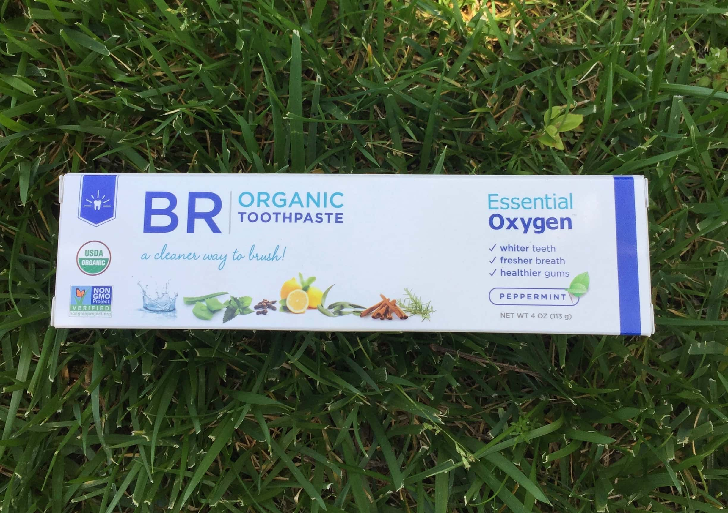 Certified Organic Toothpaste Whitens Teeth