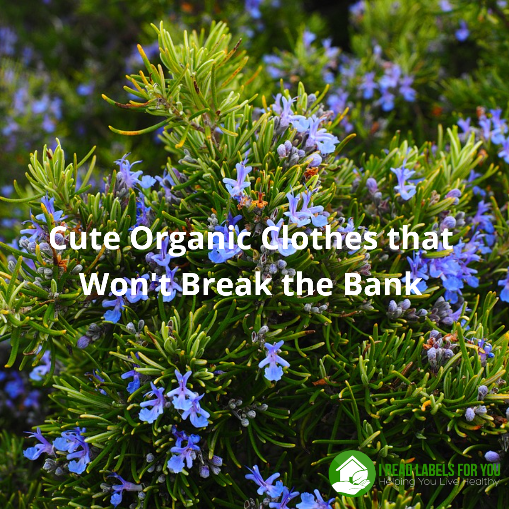 Cute Organic Clothes that Won't Break the Bank ever. The picture of a green bush with flowers. a