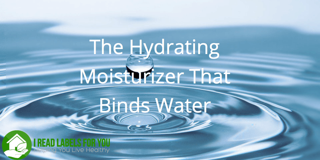 The Hydrating Moisturizer That Binds Water