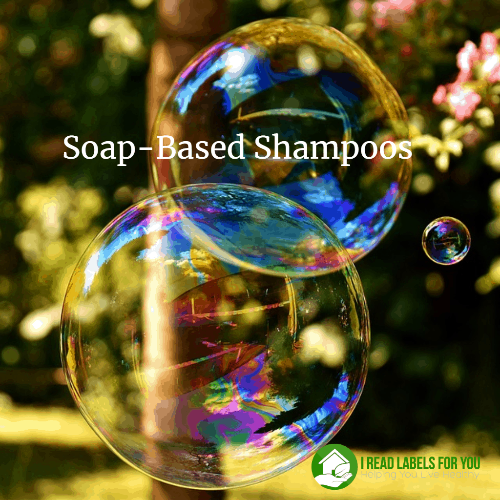 Soap-Based Shampoos