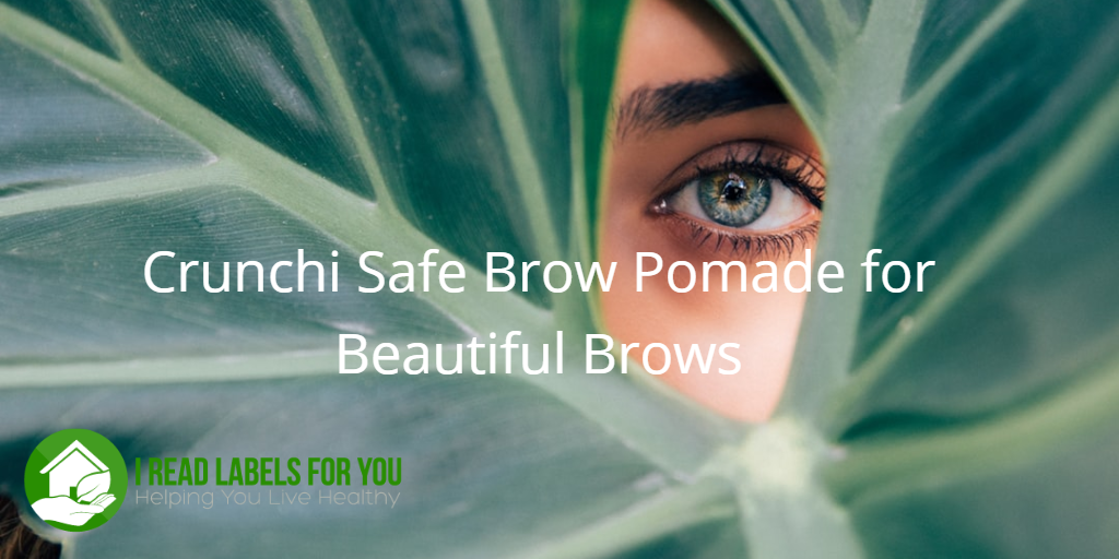 Crunchi Safe Brow Pomade for Beautiful Brows