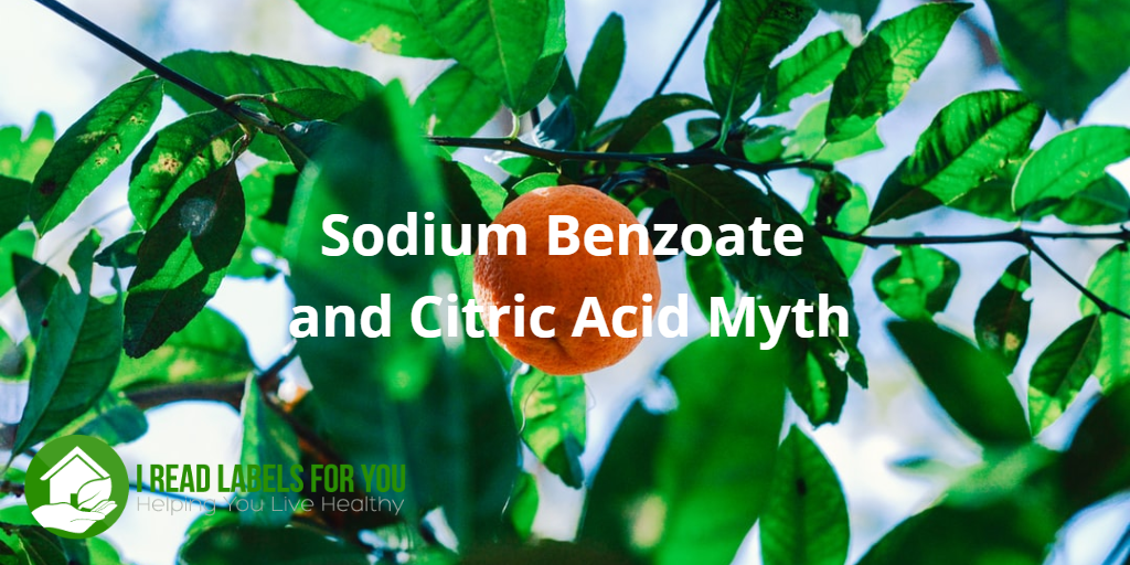 Sodium Benzoate Preservative and Citric Acid Myth