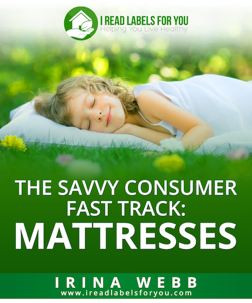 The Savvy Consumer Fast Track - Mattresses ebook cover