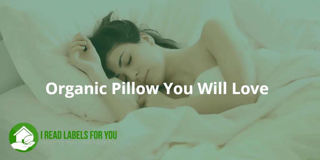 Organic Pillow You Will Love. A photo of a woman sleeping on a pillow.